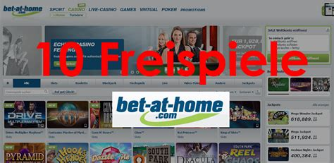bet at home freispiele 10 free spins casino apps