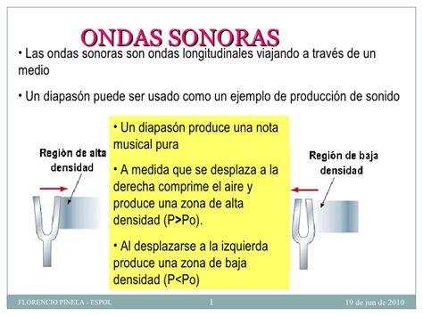 Que Es Home Design 3d Ondas Sonoras Bachillerato