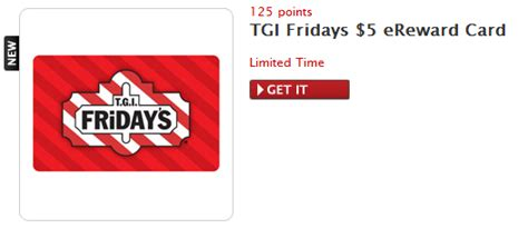 Tgif Gift Cards - redeem points fridays myideasbedroom com