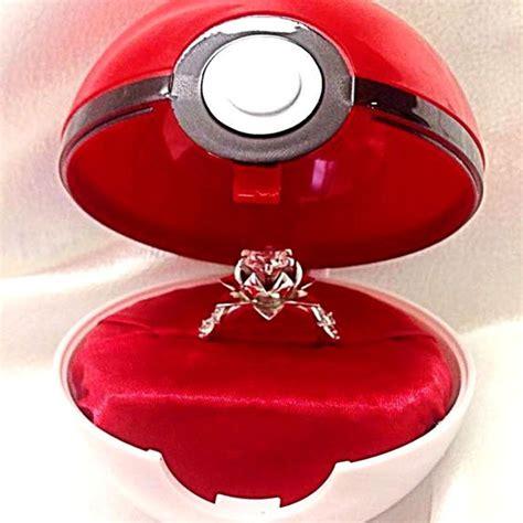 shut up and take my yen pokeball engagement ring
