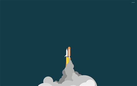 minimalist space space shuttle wallpaper minimalistic wallpapers 16092