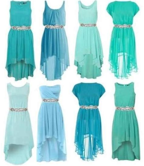 light blue high low dress any shade of blue high low dress on the hunt