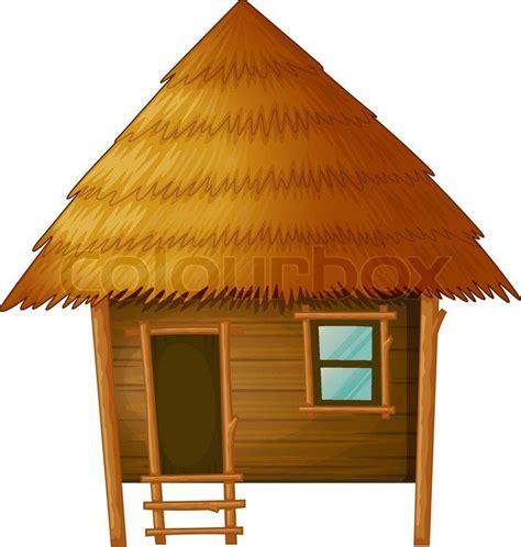 Tiki Hut Drawing Jungle Hut Clipart 7
