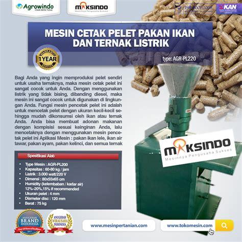 Jual Alat Pijat Listrik Di Surabaya jual mesin cetak pelet pakan ikan dan ternak listrik agr