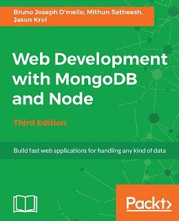 node js mongodb tutorial pdf web development with mongodb and node third edition