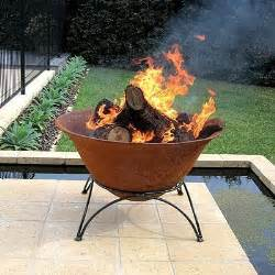 Chiminea Perth African Cast Iron Bowl And Base Fire Pit Firepit