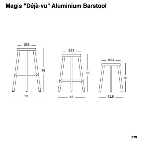 bar stools sizes deja vu barstool