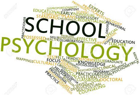 Psychology And The School school psychology program department of educational
