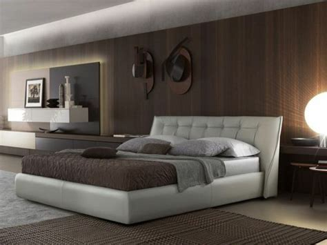 choisissez  lit en cuir pour bien meubler la chambre  coucher