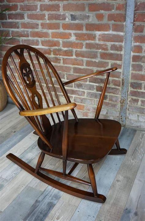 rocking chair  ercol  cushions  stdibs