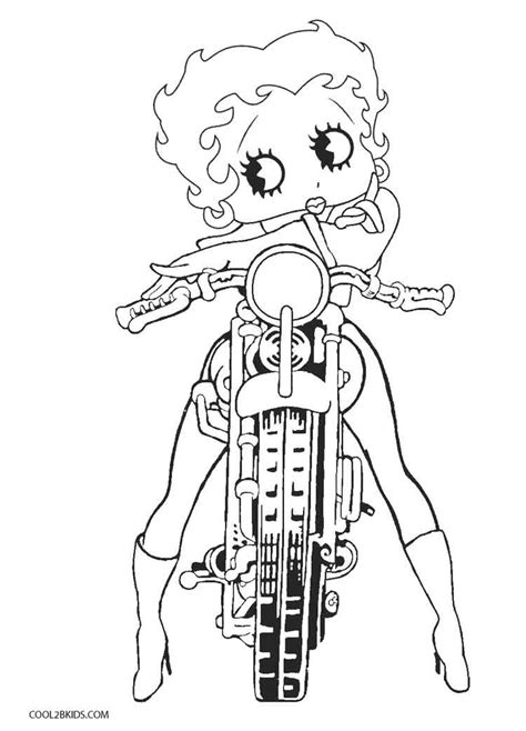 coloring pages free free printable betty boop coloring pages for cool2bkids