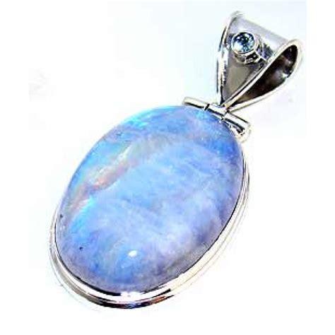 sterling silver moonstone pendant silver pendant