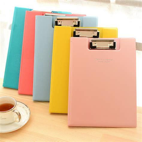 Tablet Murah Lolipop delicate color a5 flip type file folder paper