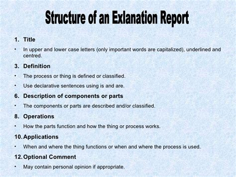 Report Writing Structure For Students by Writing Reports
