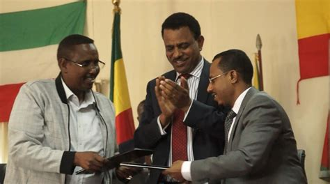 biography of lemma megersa oromia and ethio somali regions sign to end border