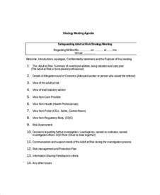 strategy meeting agenda template 10 free word pdf