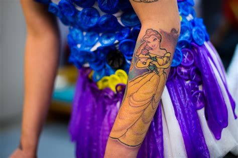 belle tattoo princess arm tattoomagz