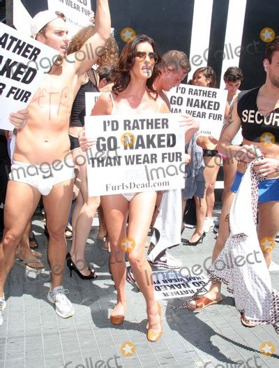 Janice Dickinsons Models Id Rather Go Than Wear Fur by Pictures From Janice Dickinson Leads The Quot I D Rather Go