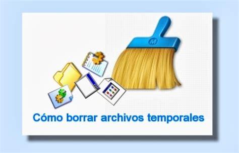 imagenes temporales windows 8 c 243 mo borrar archivos temporales de windows