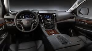 Cadillac Escalade Interior 2017 Cadillac Escalade Price Release Date Auto Fave