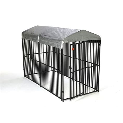 choosing outdoor dog kennel home pet care shop lucky dog 5 ft x 6 ft outdoor dog kennel panels at
