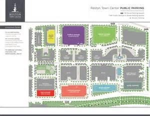 map of center parking reston town center gt