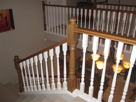 how to paint stair banisters railings black camel painting stair railing