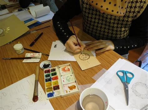 painting workshop miniatures workshop on traditional book arts calligraphy