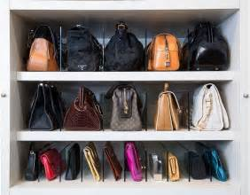 Bag Closet by Best 25 Purse Organizer Closet Ideas On
