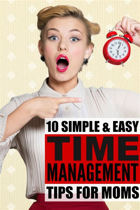 10 Tips For Time Parents by 10 Time Management Tips For Busy