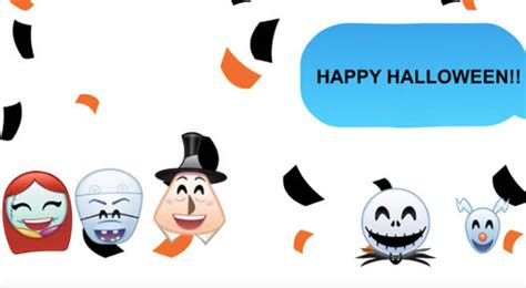 Disney The Nightmare Before As Told By Emoji the nightmare before told in emoji
