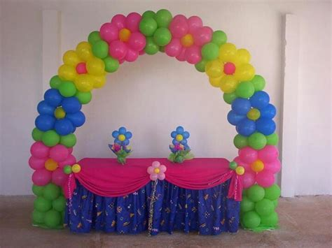 Spring themed parties flower balloons and arches rb planners rb planners