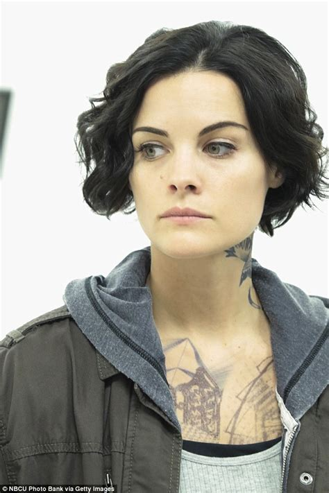 tattoo woman new tv show blindspot s jaimie alexander shows off hoda and kathie lee