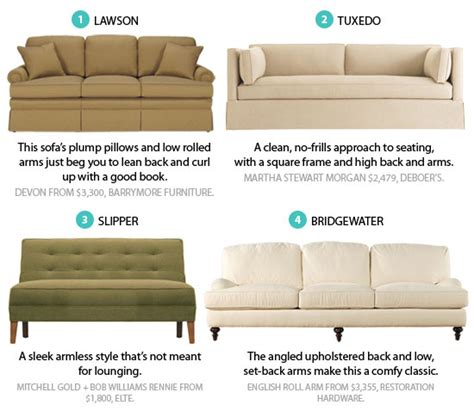 sofa styles guide poll what is your favourite sofa style style at home