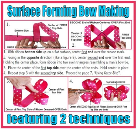 how to make hair bows written instructions video how to make a boutique hair bow instructions