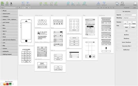 wireframe templates for adobe illustrator wireframe illustrator template responsive website