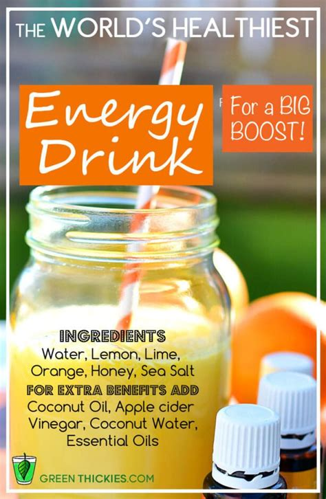 recipe for green energy drink the world s healthiest energy drink recipe for sport and