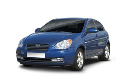 hyundai accent 1 4 top line sedan iv 97km 2007