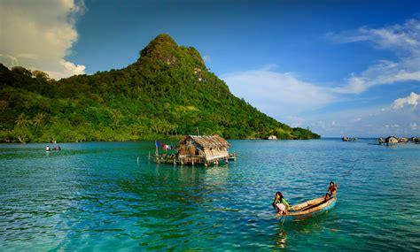 Nature Indonesia nature landscape island boat indonesia children sea