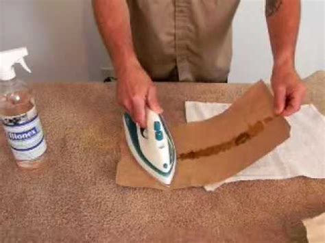 how to get wax out of upholstery hqdefault jpg