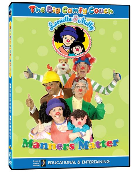 The Big Comfy Wiki by Opening To The Big Comfy Manners Matter 2004 Vhs