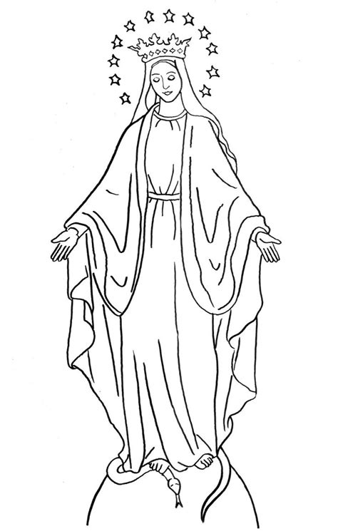 printable coloring pages virgin mary 94 best images about mary on pinterest virgin mary