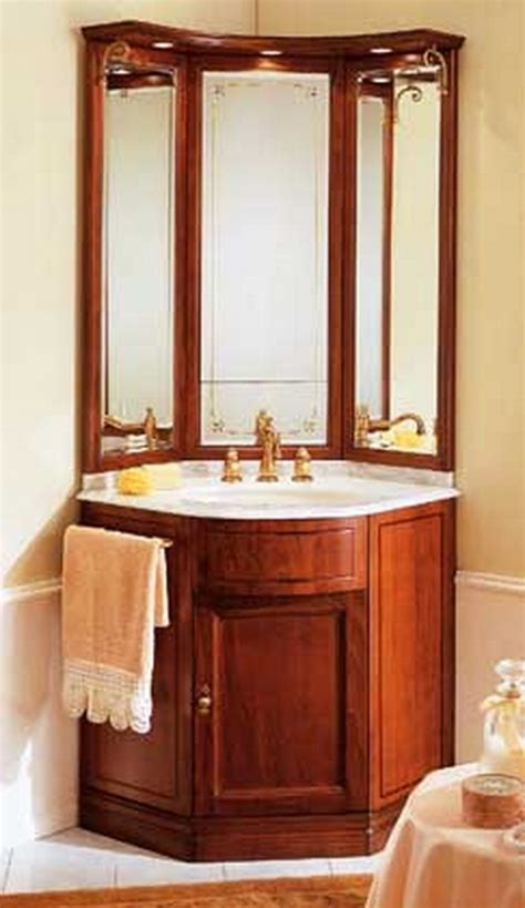 Small Bathroom Corner Vanity by Corner Vanities For Small Bathrooms Bathroom Corner