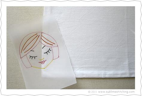 How To Make Tracing Paper - embroidery how to tracing paper transfer pens sublime