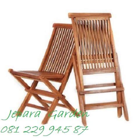 Kursi Kayu Lipat jual kursi lipat kayu jati jepara jeparagarden