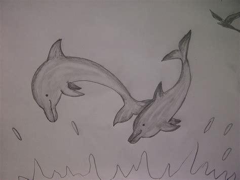 Leichte Sachen Zum Malen by Delfine Malen Wie Zeichnet Delfine Mit Dem Bleistift