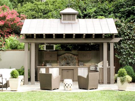 covered outdoor kitchen plans fairview rd residence traditional landscape other