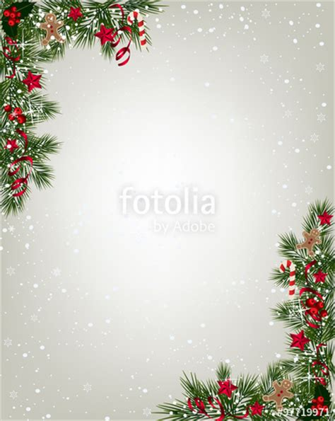 christmas wallpaper portrait quot christmas background with fir and snowflakes quot stock image