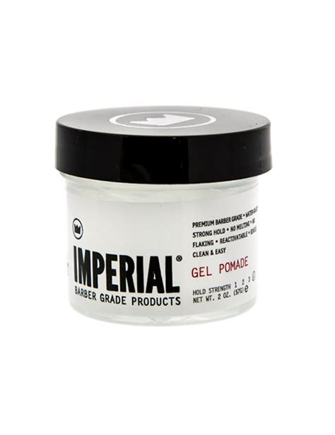 Pomade Imperial imperial barber products travel size gel pomade slick styles