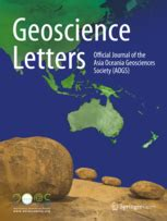 Geoscience Research Letter Geoscience Letters Home Page